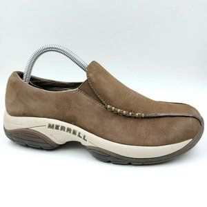 Merrell Primo Seam Moc Leather Comfort Loafer Shoe
